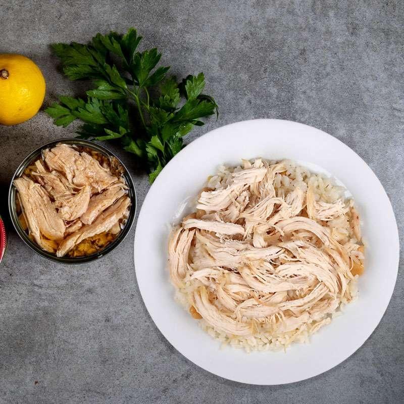 Yara Acısız Tavuk<br> Göğsü  Fileto Konservesi-DİYARTK Gıda İthalat İhracat ve San. Tic. Lim. Şti.