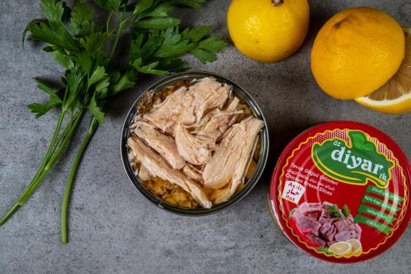 Acılı Tavuk Göğsü Fileto Konservesi 160 Gr.