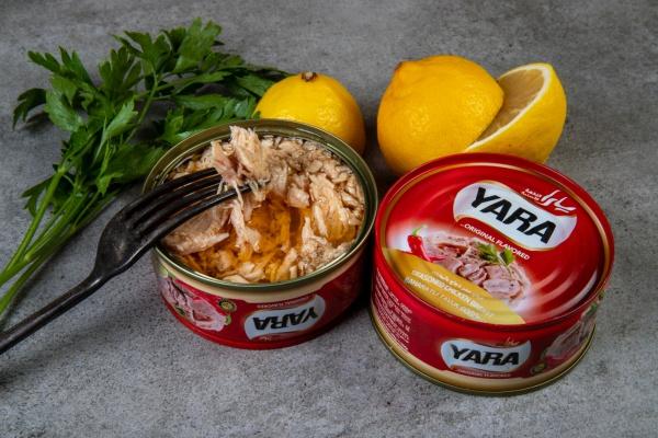 Yara Acılı Tavuk Göğsü  Fileto Konservesi 160 Gr.